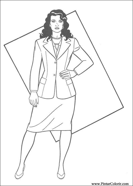 çizimler Boya Ve Renk Superman Için Baskı Tasarım 011
