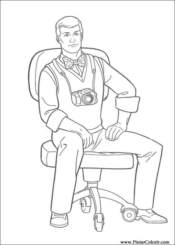 çizimler Boya Ve Renk Superman Için Baskı Tasarım 018