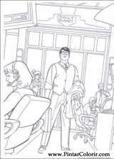 Pintar e Colorir Super Homem - Desenho 012