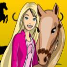 Barbie E O Poney