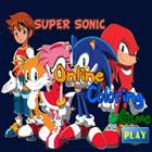 Pintar Sonic E Amigos